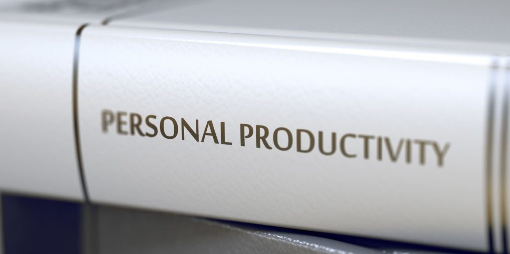 white book personal productivity